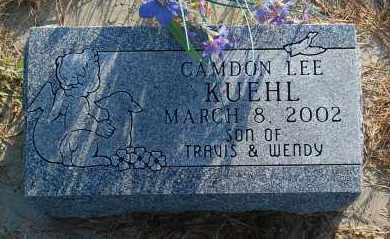 KUEHL, CAMDON LEE - Minnehaha County, South Dakota   CAMDON LEE KUEHL - South Dakota Gravestone Photos