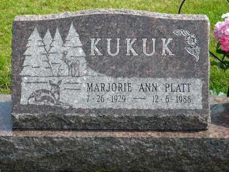 KUKUK, MARJORIE ANN - Minnehaha County, South Dakota | MARJORIE ANN KUKUK - South Dakota Gravestone Photos