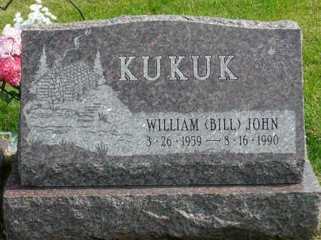 """KUKUK, WILLIAM """"BILL"""" JOHN - Minnehaha County, South Dakota   WILLIAM """"BILL"""" JOHN KUKUK - South Dakota Gravestone Photos"""