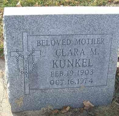 KUNKEL, CLARA M. - Minnehaha County, South Dakota | CLARA M. KUNKEL - South Dakota Gravestone Photos
