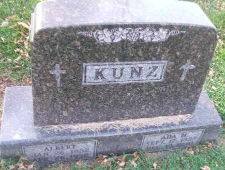 KUNZ, ADA M. - Minnehaha County, South Dakota | ADA M. KUNZ - South Dakota Gravestone Photos