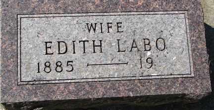 LABO, EDITH - Minnehaha County, South Dakota | EDITH LABO - South Dakota Gravestone Photos