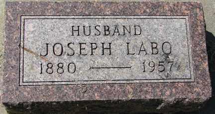 LABO, JOSEPH - Minnehaha County, South Dakota | JOSEPH LABO - South Dakota Gravestone Photos