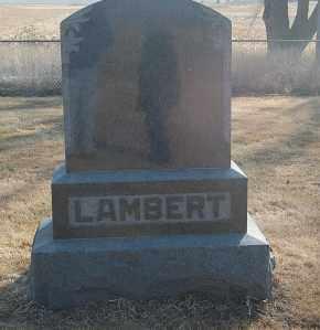 LAMBERT, FAMILY STONE - Minnehaha County, South Dakota   FAMILY STONE LAMBERT - South Dakota Gravestone Photos