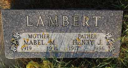 LAMBERT, HENRY J. - Minnehaha County, South Dakota | HENRY J. LAMBERT - South Dakota Gravestone Photos