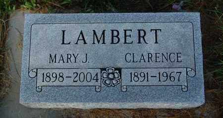 LAMBERT, CLARENCE - Minnehaha County, South Dakota | CLARENCE LAMBERT - South Dakota Gravestone Photos