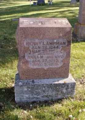 LAMPMAN, ANNA M. - Minnehaha County, South Dakota | ANNA M. LAMPMAN - South Dakota Gravestone Photos