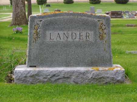 LANDER, JULIA M. - Minnehaha County, South Dakota   JULIA M. LANDER - South Dakota Gravestone Photos