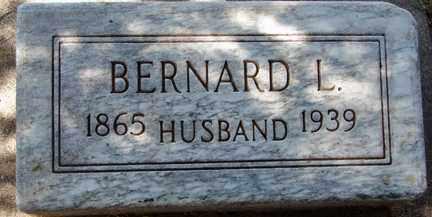LANDERS, BERNARD L. - Minnehaha County, South Dakota | BERNARD L. LANDERS - South Dakota Gravestone Photos