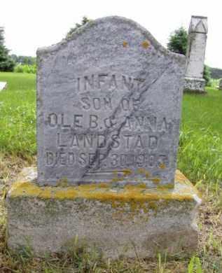 LANDSTAD, INFANT SON - Minnehaha County, South Dakota   INFANT SON LANDSTAD - South Dakota Gravestone Photos