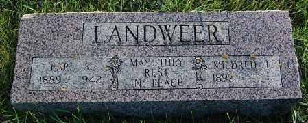 LANDWEER, EARL S. - Minnehaha County, South Dakota | EARL S. LANDWEER - South Dakota Gravestone Photos