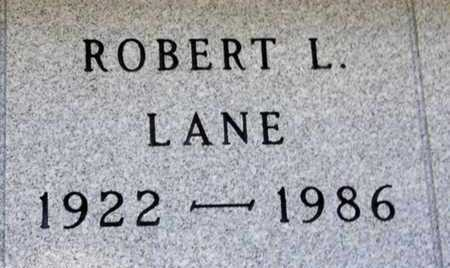 LANE, ROBERT L. - Minnehaha County, South Dakota | ROBERT L. LANE - South Dakota Gravestone Photos