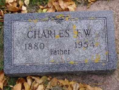 LANGEBERG, CHARLES F.W. - Minnehaha County, South Dakota | CHARLES F.W. LANGEBERG - South Dakota Gravestone Photos