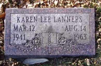 LANNERS, KAREN LEE - Minnehaha County, South Dakota | KAREN LEE LANNERS - South Dakota Gravestone Photos