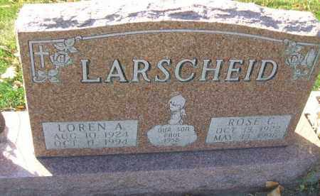 LARSCHEID, LOREN A. - Minnehaha County, South Dakota | LOREN A. LARSCHEID - South Dakota Gravestone Photos