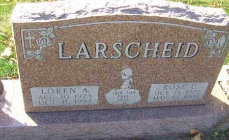 LARSCHEID, PAUL - Minnehaha County, South Dakota | PAUL LARSCHEID - South Dakota Gravestone Photos