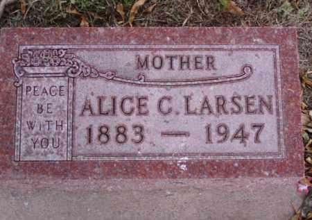 LARSEN, ALICE C. - Minnehaha County, South Dakota | ALICE C. LARSEN - South Dakota Gravestone Photos