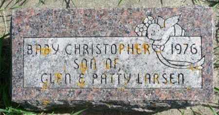 LARSEN, CHRISTOPHER - Minnehaha County, South Dakota | CHRISTOPHER LARSEN - South Dakota Gravestone Photos