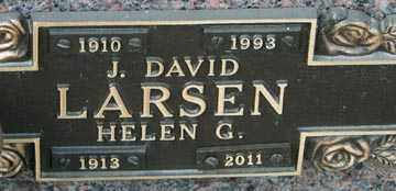 AABY LARSEN, HELEN GENEVA - Minnehaha County, South Dakota | HELEN GENEVA AABY LARSEN - South Dakota Gravestone Photos