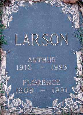 LARSON, ARTHUR - Minnehaha County, South Dakota | ARTHUR LARSON - South Dakota Gravestone Photos
