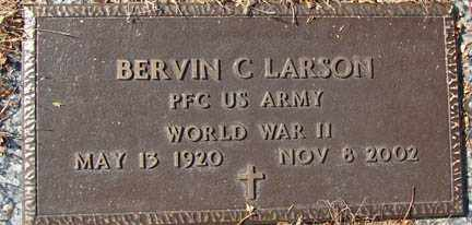 LARSON, BERVIN CORNEILUS - Minnehaha County, South Dakota | BERVIN CORNEILUS LARSON - South Dakota Gravestone Photos