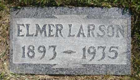 LARSON, ELMER - Minnehaha County, South Dakota | ELMER LARSON - South Dakota Gravestone Photos