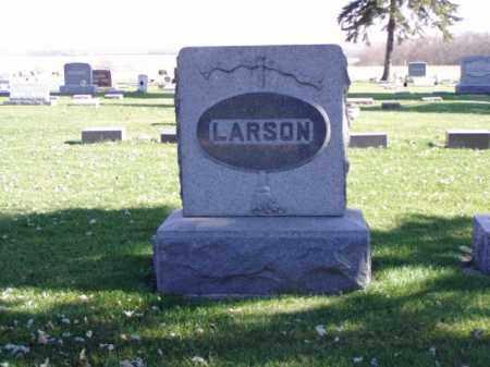 LARSON, FAMILY MARKER - Minnehaha County, South Dakota | FAMILY MARKER LARSON - South Dakota Gravestone Photos