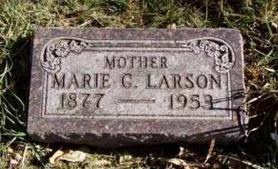LARSON, MARIE G. - Minnehaha County, South Dakota   MARIE G. LARSON - South Dakota Gravestone Photos