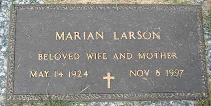 LARSON, MARIAN - Minnehaha County, South Dakota | MARIAN LARSON - South Dakota Gravestone Photos