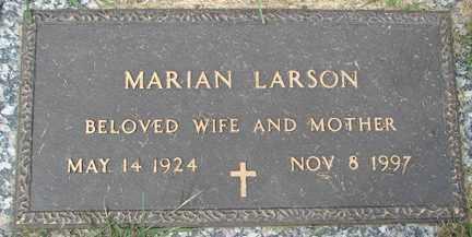 LARSON, MARIAN - Minnehaha County, South Dakota | MARIAN LARSON - South Dakota Gravestone Photos