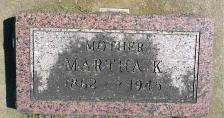 LARSON, MARTHA K. - Minnehaha County, South Dakota | MARTHA K. LARSON - South Dakota Gravestone Photos