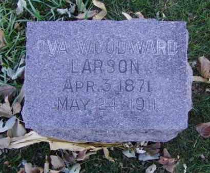 LARSON, OVA - Minnehaha County, South Dakota | OVA LARSON - South Dakota Gravestone Photos