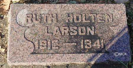 LARSON, RUTH - Minnehaha County, South Dakota   RUTH LARSON - South Dakota Gravestone Photos