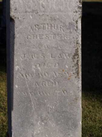 LAW, ARTHUR CHESTER - Minnehaha County, South Dakota   ARTHUR CHESTER LAW - South Dakota Gravestone Photos
