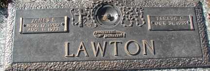 LAWTON, JAMES E. - Minnehaha County, South Dakota | JAMES E. LAWTON - South Dakota Gravestone Photos