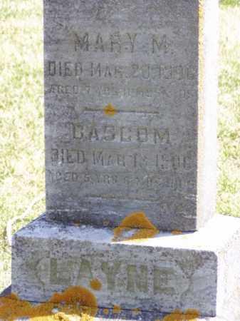 LAYNE, BASCOM I. - Minnehaha County, South Dakota   BASCOM I. LAYNE - South Dakota Gravestone Photos