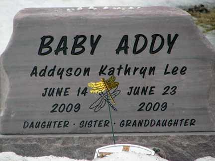 LEE, ADDYSON KATHRYN - Minnehaha County, South Dakota   ADDYSON KATHRYN LEE - South Dakota Gravestone Photos