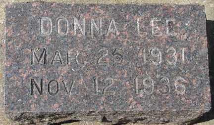 LEE, DONNA - Minnehaha County, South Dakota   DONNA LEE - South Dakota Gravestone Photos