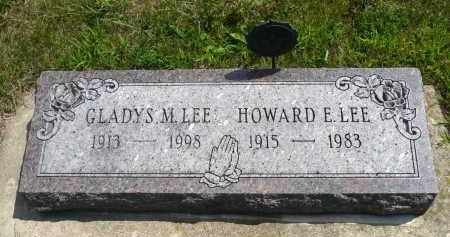 LEE, HOWARD E. - Minnehaha County, South Dakota | HOWARD E. LEE - South Dakota Gravestone Photos