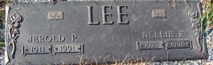 LEE, NELLIE E. - Minnehaha County, South Dakota   NELLIE E. LEE - South Dakota Gravestone Photos