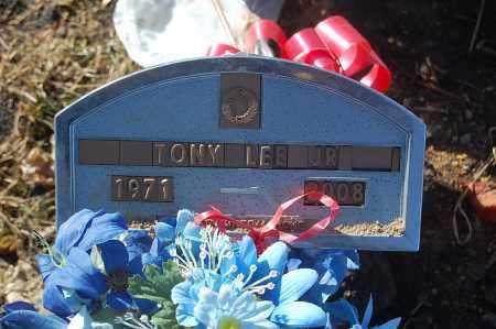 LEE, JR., TONY - Minnehaha County, South Dakota | TONY LEE, JR. - South Dakota Gravestone Photos