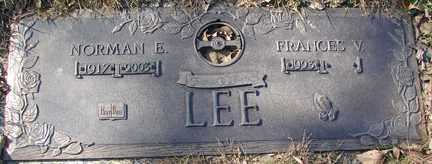LEE, NORMAN E. - Minnehaha County, South Dakota | NORMAN E. LEE - South Dakota Gravestone Photos