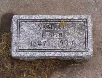 LEIGH, SAMUEL - Minnehaha County, South Dakota   SAMUEL LEIGH - South Dakota Gravestone Photos