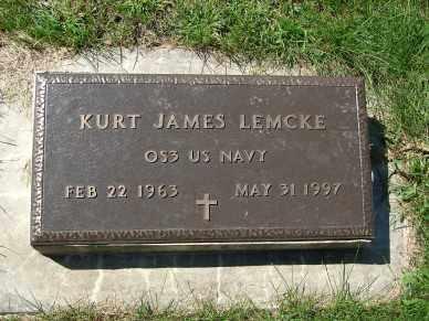LEMCKE, KURT JAMES - Minnehaha County, South Dakota | KURT JAMES LEMCKE - South Dakota Gravestone Photos
