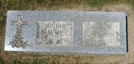 LEMME, MAYME C. - Minnehaha County, South Dakota | MAYME C. LEMME - South Dakota Gravestone Photos