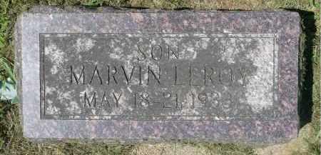 LEMME, MARVIN LEROY - Minnehaha County, South Dakota   MARVIN LEROY LEMME - South Dakota Gravestone Photos