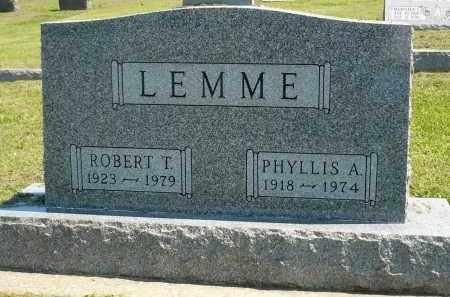 LEMME, PHYLLIS A. - Minnehaha County, South Dakota | PHYLLIS A. LEMME - South Dakota Gravestone Photos