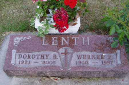 LENTH, DOROTHY B. - Minnehaha County, South Dakota | DOROTHY B. LENTH - South Dakota Gravestone Photos