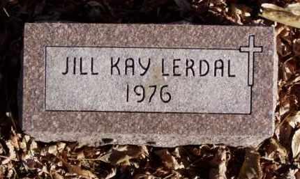LERDAL, JILL KAY - Minnehaha County, South Dakota | JILL KAY LERDAL - South Dakota Gravestone Photos