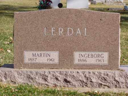 LERDAL, MARTIN - Minnehaha County, South Dakota | MARTIN LERDAL - South Dakota Gravestone Photos
